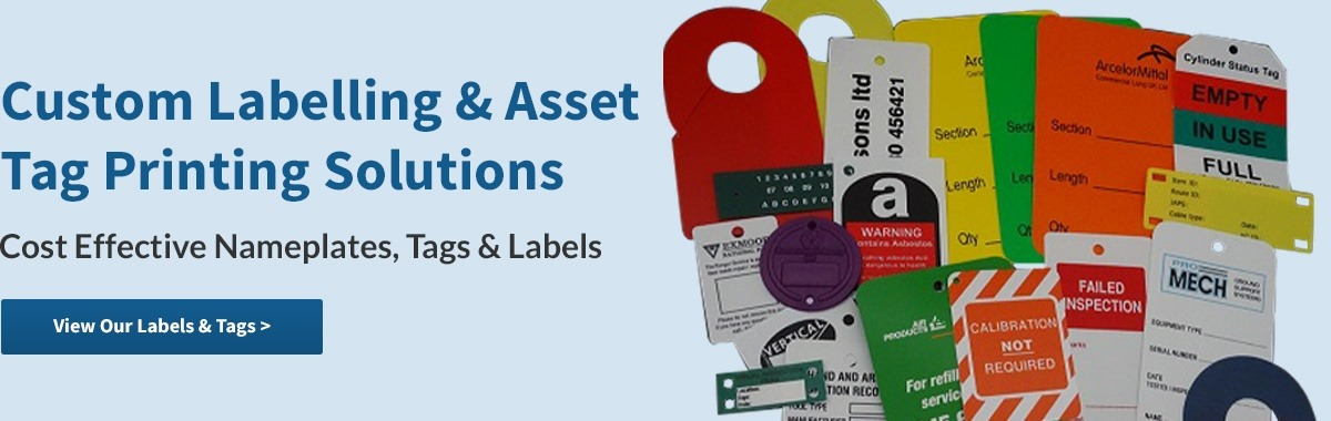 Custom Labelling & Asset Tag Printing
