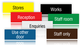 Engraved Plastic Signs for Offices