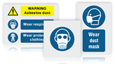 Breathing Protection Mandatory Safety Signs