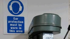 Ear Protection Mandatory Safety Signs