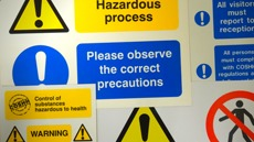 COSHH Warning Signs, Products & Stickers