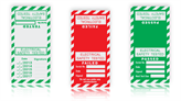 Electrical Cable Wrap Labels