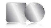 Blank Metal Tags - Anodised Aluminium Tags