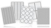 Industrial Grade Laser Labels - White
