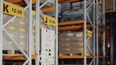 Warehouse Rack Labels and Shelf Tags