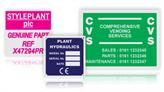 Anodised Aluminium Nameplates (Single Colour)