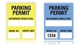 Windowstick Parking Permits