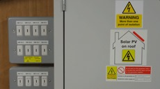 Photovoltaic Solar PV Hazard Warning Labels