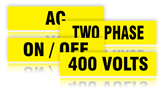 Voltage and Equipment Markers