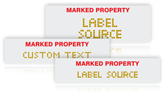 Supermark Labels and Stencils