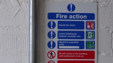 Access and Emergency Safety Signs