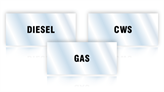 Pipe Identification Labels