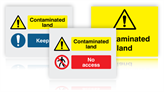 Contaminated Land Signs