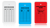 Equipment Inspection and Status Tags
