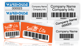 Dual Barcode Labels