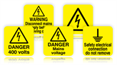 Laminated Voltage Labels