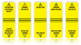 Cable Marking Wrap Labels