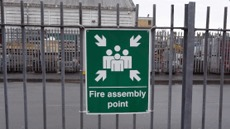 Emergency Access and Fire Safety Signs