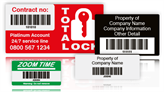 Scanmark Plus Barcode Labels