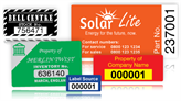 Serial Numbered Asset Labels