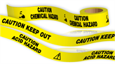 Spill Control Barrier Tapes