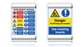 Scaffold Safety Banners