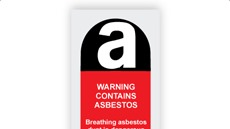 Asbestos Warning Labels, Signs & Tapes