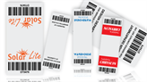 Cable Wrap Barcode Labels