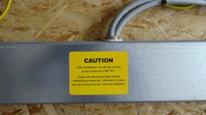 Wiring Regulations (BS 7671) Labels