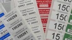 Assetmark Plus Serial Number Labels