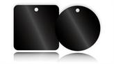 Black Anodised Aluminium Tags