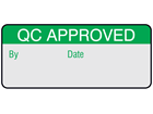 QC approved aluminium foil labels.