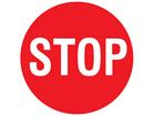 Stop floor marker