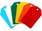 Plain Plastic Tags (50mm x 80mm)