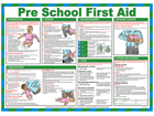 Pre school first aid treatment guide.