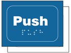 Push sign.