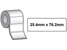 Tamper evident labels, 25.4mm x 76.2mm