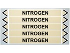 Nitrogen flow marker label.