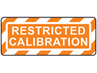 Restricted calibration label