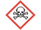 GHS toxic hazard label