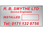 Stainless steel nameplate (1 colour), 20mm x 40mm.