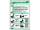 Emergency resuscitation, what you should know sign.
