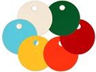 Circular Plastic Tags (25mm Diameter)