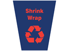 Shrink wrap waste sack