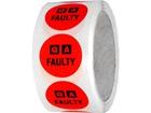 QA Faulty label