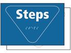 Steps sign.