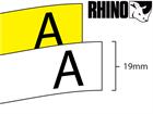 Dymo Rhino non adhesive tag tape (19mm)