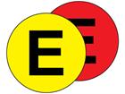 Aisle floor markers, E