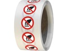 Do not touch symbol labels.