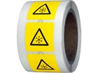 Low temperature symbol labels.